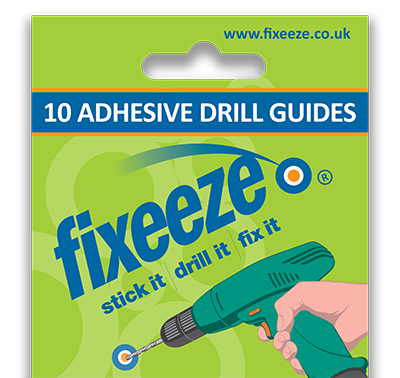Fixeeze packet of 10 drilling guides